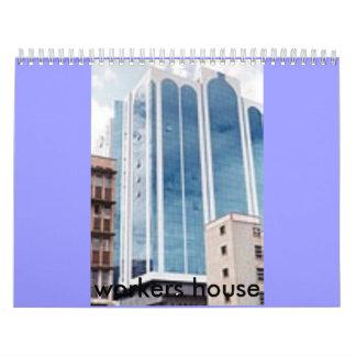 [994754419] Trabajador-Casa-tn, worke… - Calendario De Pared