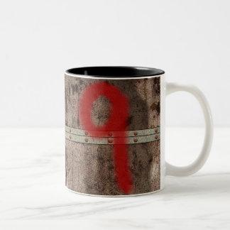"""999 """"9 Door"""" Mug - Metal"""