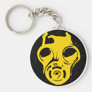999 Gas Mask Design Keychains