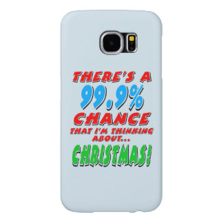 99.9% CHRISTMAS (blk) Samsung Galaxy S6 Case