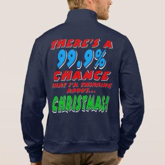 99.9% CHRISTMAS (wht) Jacket
