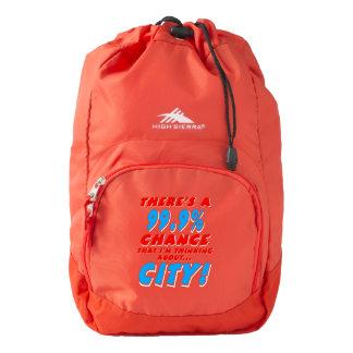 99.9% CITY (wht) High Sierra Backpack
