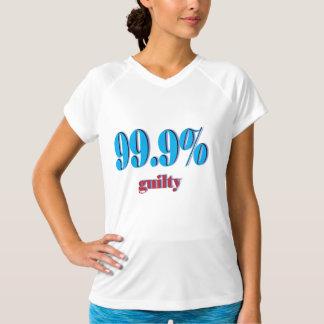 99.9 Percent Guilty T-Shirt