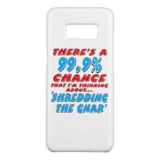99.9% SHREDDING THE GNAR (blk) Case-Mate Samsung Galaxy S8 Case