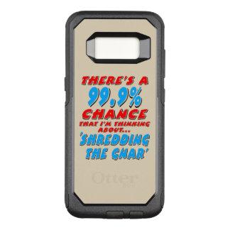 99.9% SHREDDING THE GNAR (blk) OtterBox Commuter Samsung Galaxy S8 Case