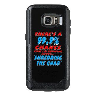 99.9% SHREDDING THE GNAR (wht) OtterBox Samsung Galaxy S7 Case