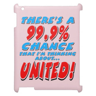 99.9% UNITED (blk) Cover For The iPad 2 3 4
