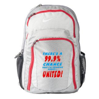 99.9% UNITED (wht) Nike Backpack