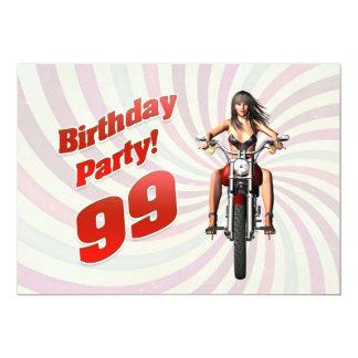 99.a fiesta de cumpleaños con un chica en una moto comunicados