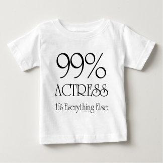 99% Actress Baby T-Shirt
