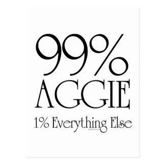 99% Aggie Postcard
