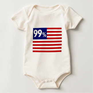 99 % American Flag - Occupy Wall Street Creeper