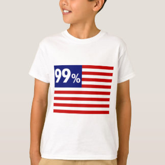 99 % American Flag - Occupy Wall Street T-Shirt
