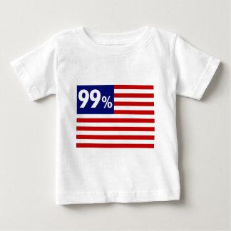 99 % American Flag - Occupy Wall Street Shirt