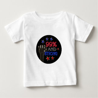 99% and Strong protest on 30 items Baby T-Shirt