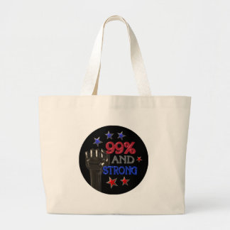 99% and Strong protest on 30 items Canvas Bag