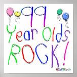 ¡99 años de la roca! impresiones