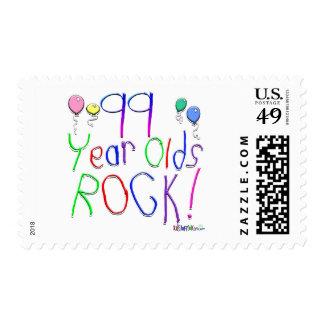 ¡99 años de la roca! sello