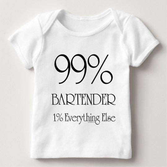 99% Bartender Baby T-Shirt