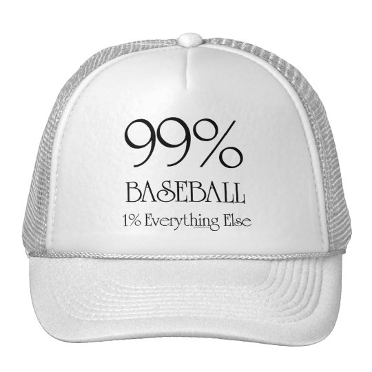 99% Baseball Trucker Hat
