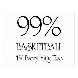 99% Basketball Postcard