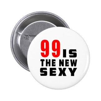 99 birthday designs pinback button