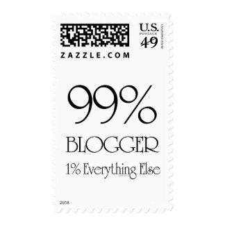 99% Blogger Postage Stamp