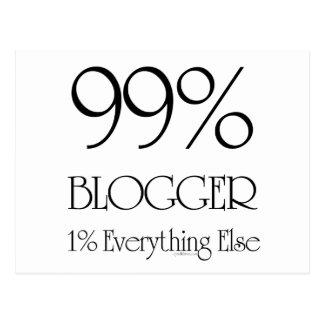 99% Blogger Postcard