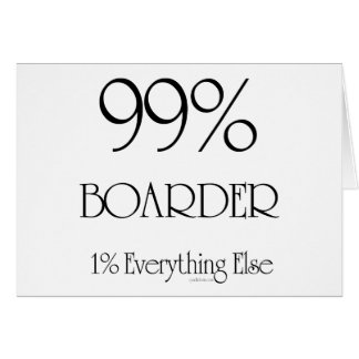 99% Boarder Card