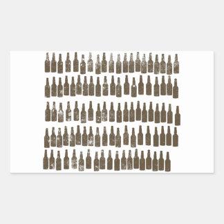 99 Bottles of Beer on.... Rectangular Sticker