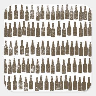 99 Bottles of Beer on.... Square Sticker