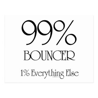 99% Bouncer Postcard