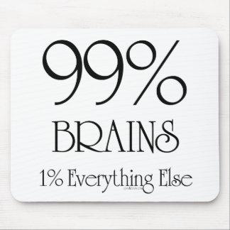 99% Brains Mouse Pad