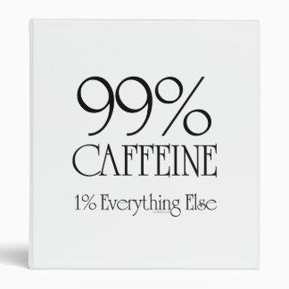 99% Caffeine Vinyl Binders