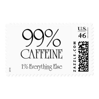 99 Caffeine Postage Stamp