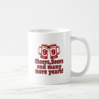 99 Cheers Beer Birthday Coffee Mug