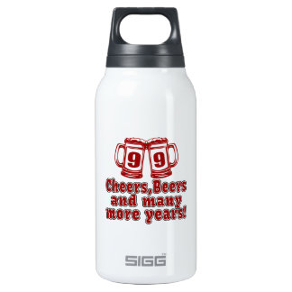 99 Cheers Beer Birthday Thermos Bottle