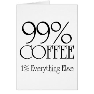 99% Coffee Card
