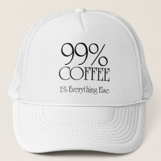 99% Coffee Trucker Hat