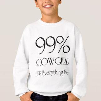 99% Cowgirl Sweatshirt