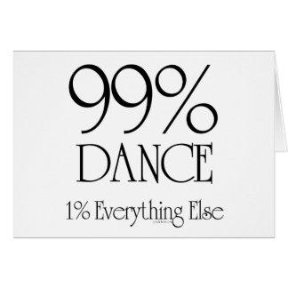 99% Dance Cards