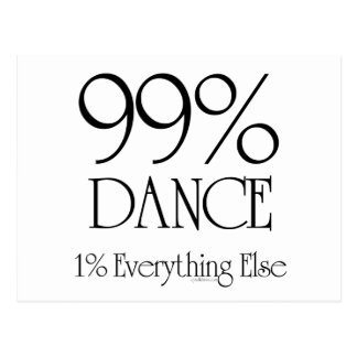 99% Dance Post Card