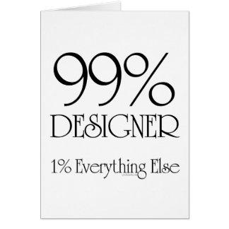 99% Designer Card