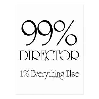 99% Director Postcard