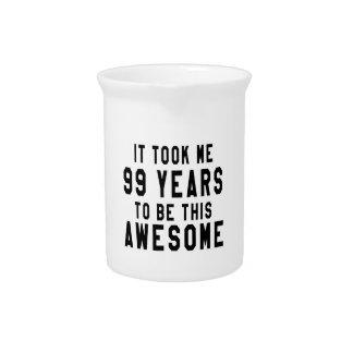 99 diseños del cumpleaños jarrón