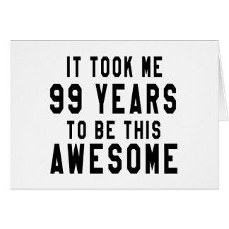 99 diseños del cumpleaños tarjeta de felicitación