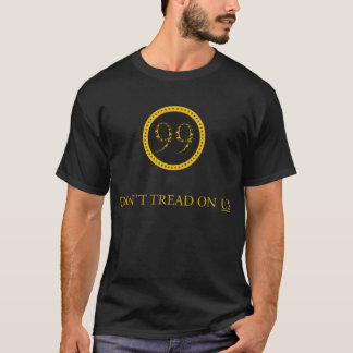 99% Dont tread on US -  rattlesnake symbol/motto T-Shirt