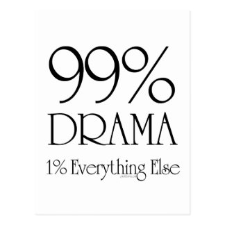 99% Drama Postcard