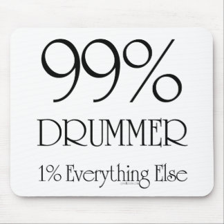 99% Drummer Mouse Pad