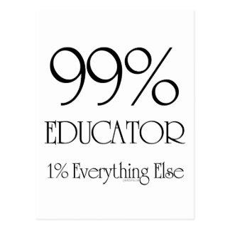 99% Educator Postcard